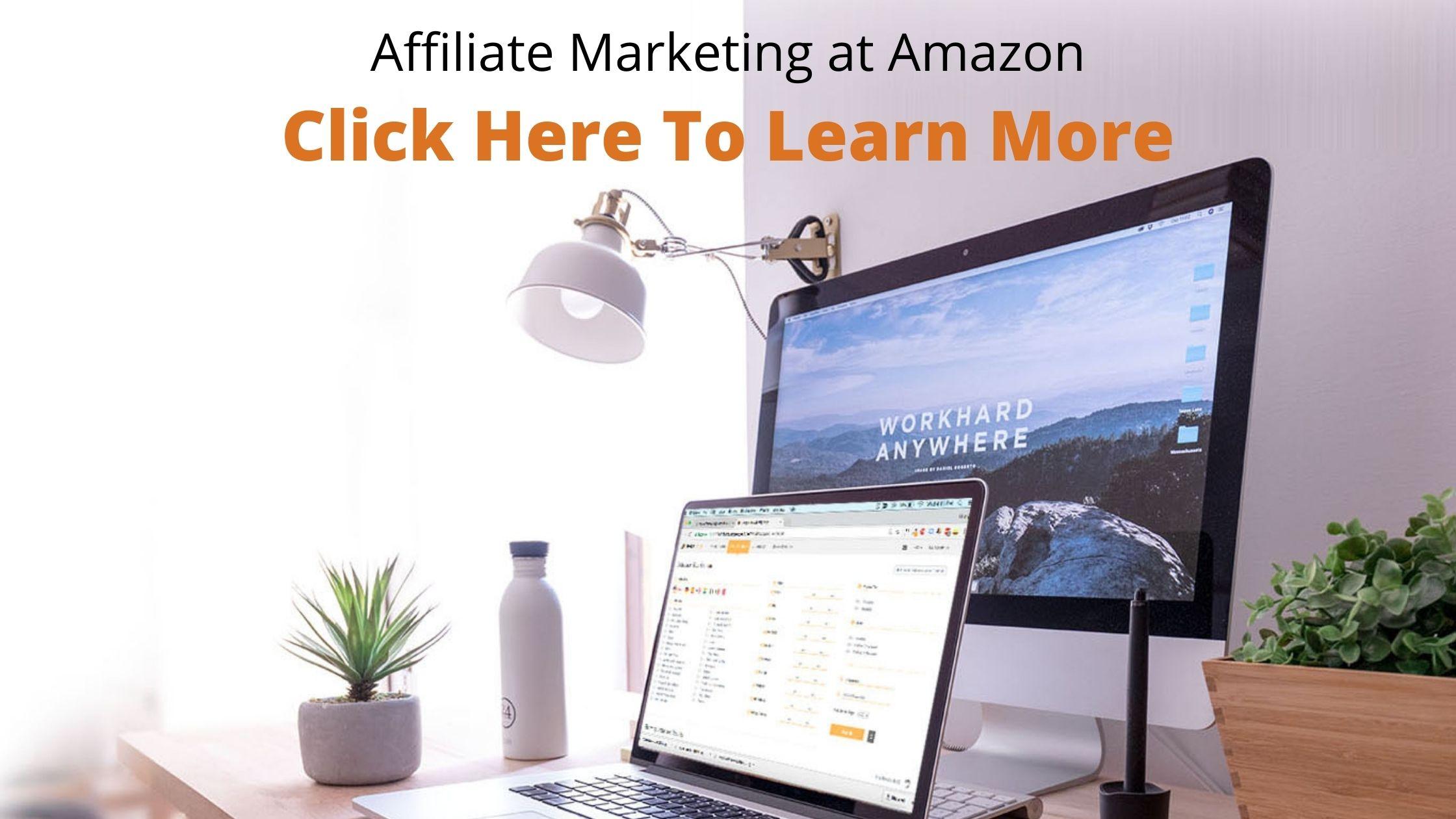 Affiliate Marketing at Amazon-fba