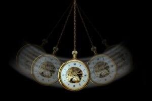 swinging watch