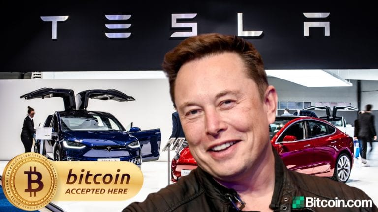 Tesla Begins Accepting Bitcoin — Elon Musk Says BTC Payments Will Not Be Converted to Fiat Currency