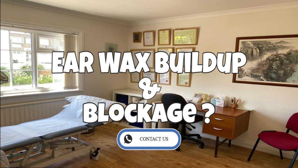 ear wax buildup and blockage contact