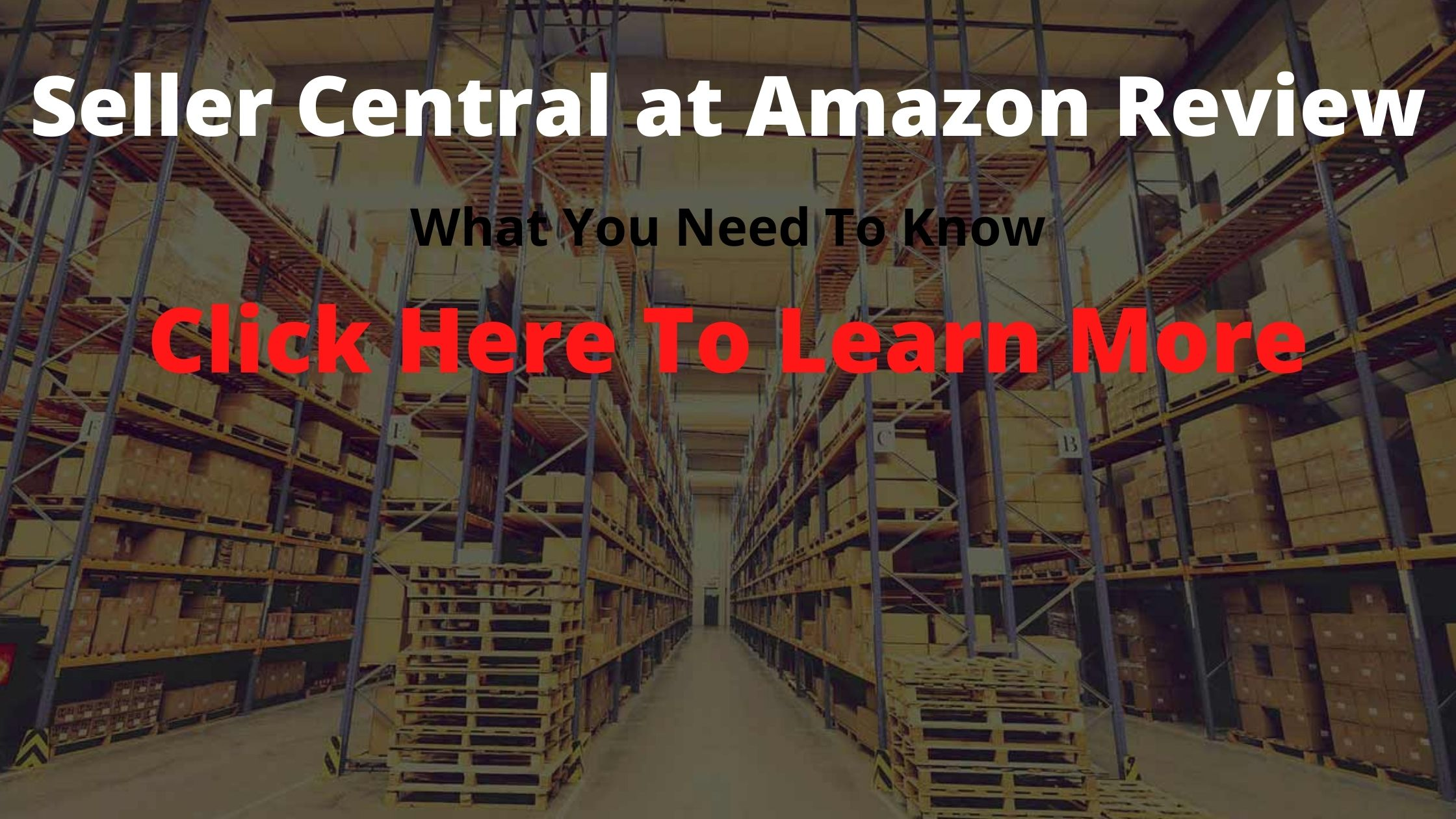 seller central at amazon