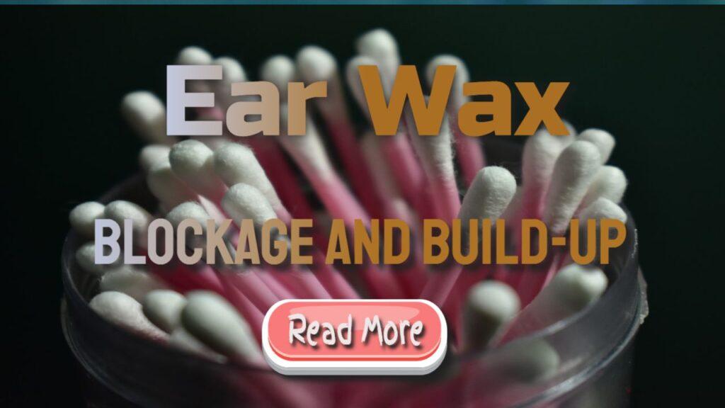 earwax build-up